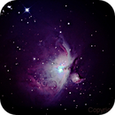 M 42 - Orion Nebel,                                Martin Luther