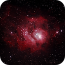 Messier M8 - NGC6523 & NGC6530 - Lagoon Nebula and Cluster,                                Geoff Scott