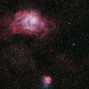 Messie8 - Messier 20,                                simon harding