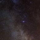 Voie Lactée au 50mm,                                syl94