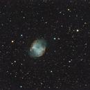 Messier 27 - MAK 127/1500  tested,                                Wolfgang Zimmermann