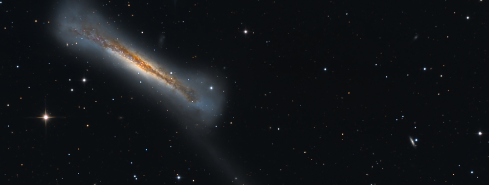 NGC 3628 and a Stream of Stars,                                Kent Wood