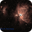M42 the Orion Nebula – Post Processing Project - Practice,                                Van H. McComas