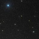 "cometa C/2016 M1 Panstarrs ""vicino"" all'ammasso globulare M54 e Zeta Saggitario,                                Rolando Ligustri"