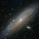 M31 Andromeda Galaxy,                                hbastro