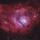 The Lagoon Nebula- Messier 8,                                John Michael Bellisario
