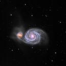 M51 Whirlpool Galaxy,                                UlfG