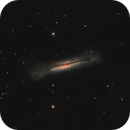 NGC3628: Edge-on Spiral Galaxy,                                Glenn Diekmann