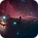 Horsehead and Flame Nebulae,                                Marco Rapino