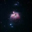 M42 Orion Nebula,                                John Burns