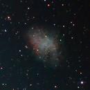 M1 - Crab Nebula,                                Michael Sanford