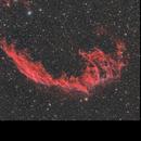 NGC6992 - Network Nebula,                                Elvie1
