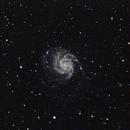 A look at M101 - Single frame,                                Vítor de Oliveira Silva