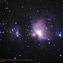Orion Nebula (M42+M43) and Running Man Nebula (NGC 1977) in the constellation Orion,                                Hans-Peter Olschewski