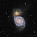 M51 Whirlpool Galaxy,                                photonjunkie