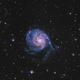 M101 Pinwheel Galaxy,                                elvethar