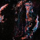 NGC 6960 - Veil Nebula,                                Skywalker83