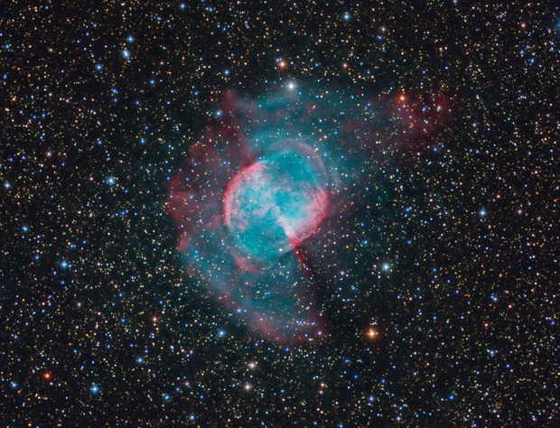 M27 outer shell,                                Peter Shah