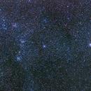 Open cluster wide field in Auriga (M 36, M 37, M 38),                                Hermann Mühlichen