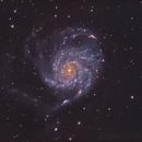 M101 Pinwheel Galaxy in HaLRGB,                                Chad Andrist