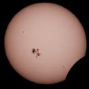 Partial solar eclipse October 23 2014,                                dearnst