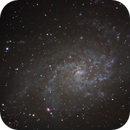 M33 The Triangulum Galaxy,                                Matthew Abey