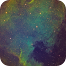 North America Nebula,                                jsines