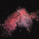 NGC 7380 - Flying Horse Nebula,                                Tim