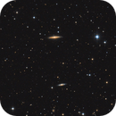 NGC 5289 and others in Canes Venatici,                                Nurinniska