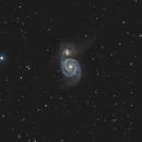 M51, Whirlpool Galaxy, Takahashi E-300, Halley Observatory (NL),                                Sören Ottenhof