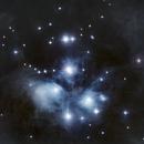 M45 Pleiades Limited Stars (Post Starnet++),                                Brandon Tackett