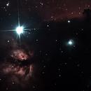IC434 (Horse Head Nebula) et NGC2024 (La Flamme),                                bibistargate