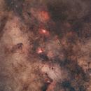 Région M16,                                ASTROIDF