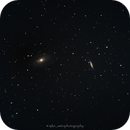 M81, M82 - Bode and Cigar galaxy during bright Moon,                                Michal Vokolek