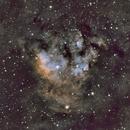 NGC 7822  Hubble Palette,                                dennis1951