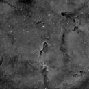 Elephant Trunk Nebula (IC1396) in Hα,                                Jose Carballada