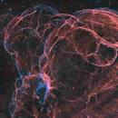 Spaghetti Nebula Sh2-240 (Simeis147) HOO,                                m_abdulkareem
