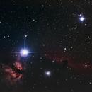 IC 434 Horsehead / Flame Nebula,                                Pieter