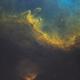 Sh2-198 Emission Nebula Off of the Soul in HOO,                                Douglas J Struble