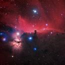 Horsehead and Flame Nebulea  HaRGB  widefield    Barnard 33   NGC 2024 (Sh2-277),                                StephanHamel
