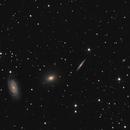 Draco Triplet: NGC5985, NGC5982, NGC5981,                                Simon Schweizer