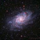 M33 - The Triangulum Galaxy,                                Marco Favro