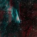 NGC2736 - Pencil Nebula in HOORGB,                                Richard Bratt