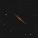 NGC 4565 crooped versjon,                                Ola Skarpen SkyEyE