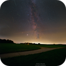 Perseids and the Milky-Way,                                Markus Bauer