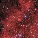 Sh2 104 H-alpha RGB Reprocessed in 2021,                                jerryyyyy