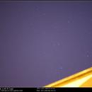 Voie Lactée au niveau de la région du Cygne,                                nzv