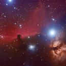 Horsehead nebula and Alnitak,                                Andres Noriega