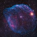 Short SH2-308 - Dolphin or Gourd Nebula,                                Ben