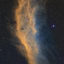 NGC1499 in narrowband,                                Tom's Pics